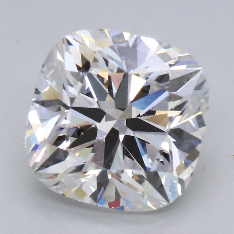 2.52ct F VS2 Hearts and Arrows Cushion Private Reserve Lab Grown Diamond