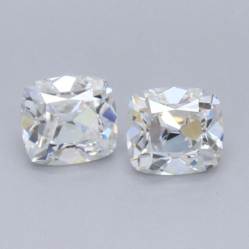 Pair of Heritage Cushions .789cttw F/G VS/VVS Private Reserve Lab Grown Diamond