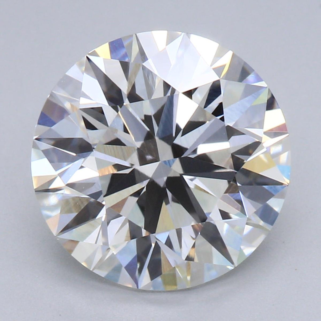 2.70ct F VVS2 Ideal Cut Lab Grown Diamond
