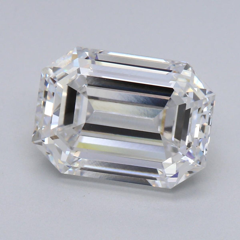3.72ct F VS1 Emerald Cut Lab Grown Diamond