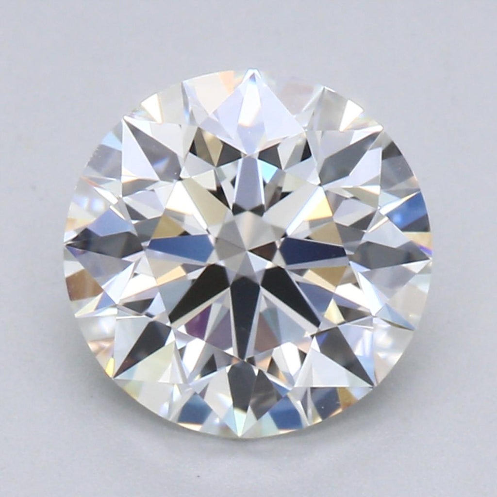 1.27ct F VS1 Hearts & Arrows Round Brilliant Cut Diamond