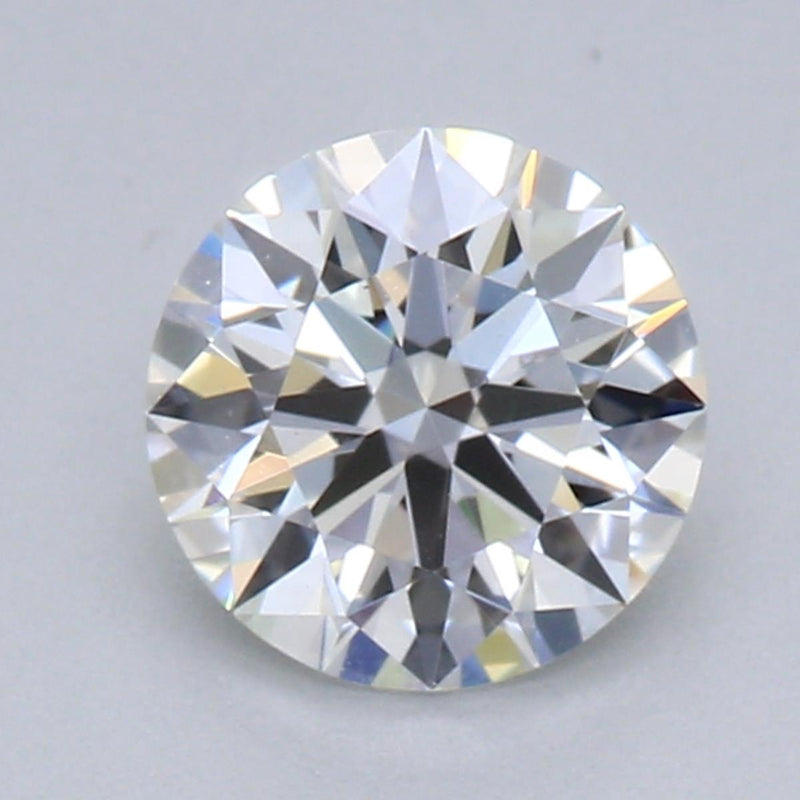 0.55ct F VS2 Private Reserve Lab Grown Diamond in 14kt floating pendant