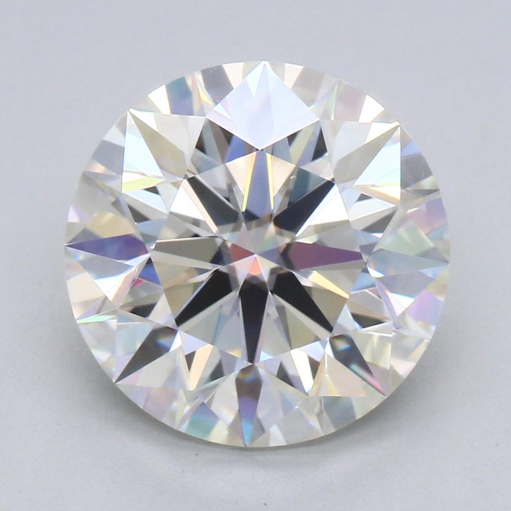 Your Custom Cut Distinctive Ideal Cut Round Moissanite