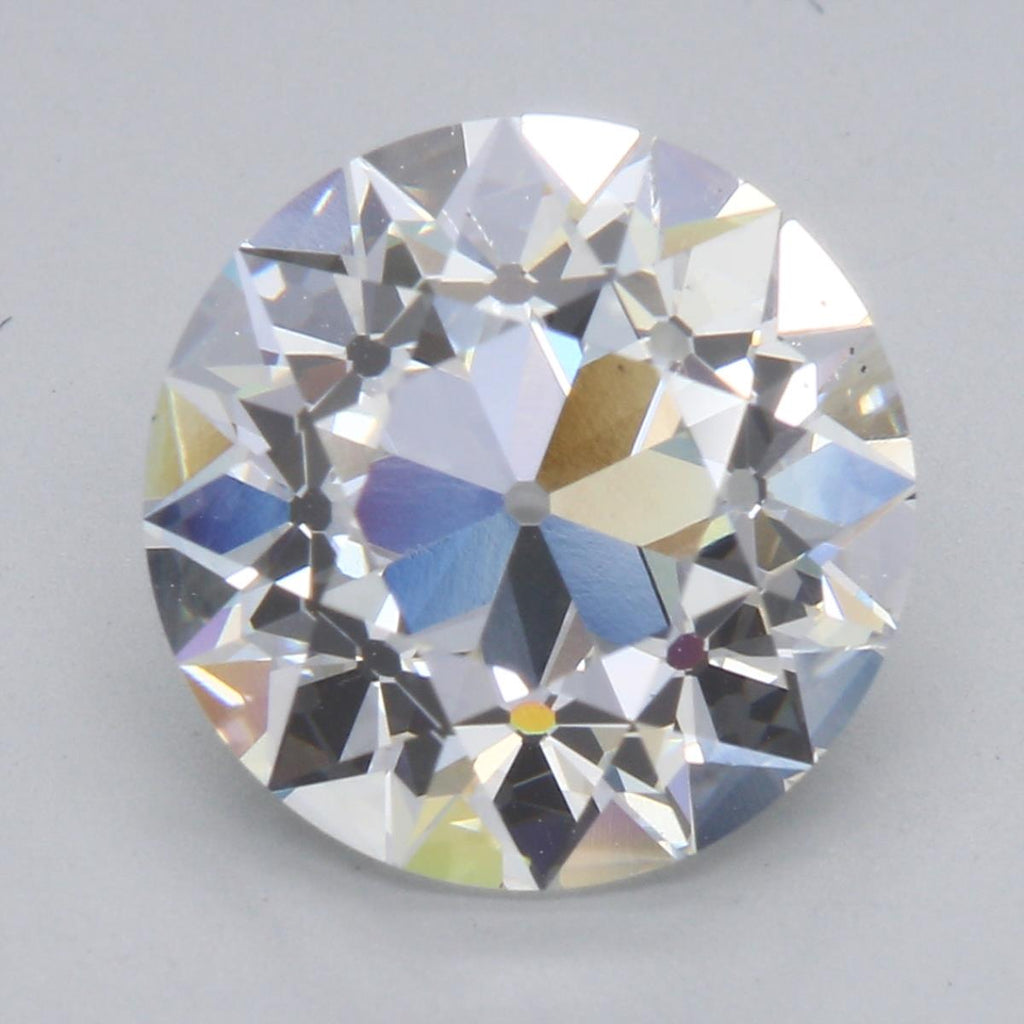 3.50ct F VS2 August Vintage European Cut Private Reserve Lab Grown Diamond