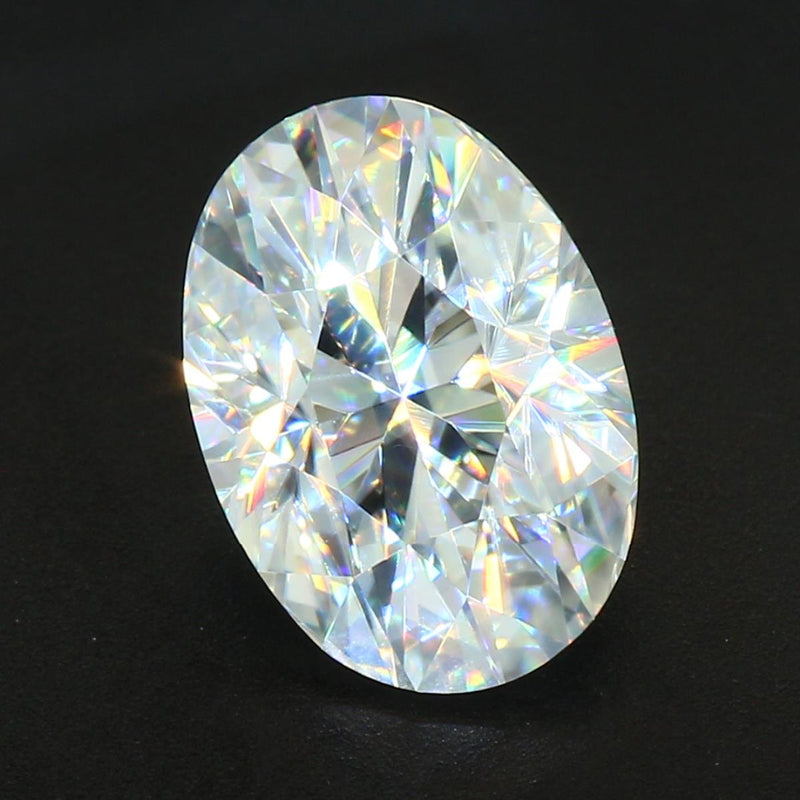 Your Custom Cut Distinctive Oval Cut Moissanite