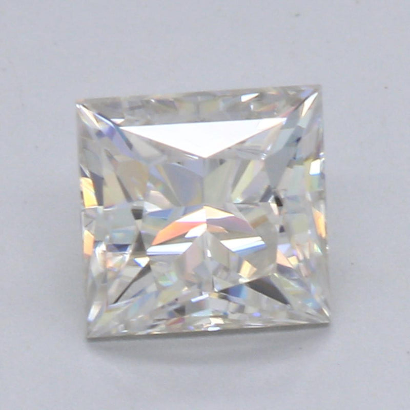 4.5mm .64ct Distinctive Princess Cut Moissanite