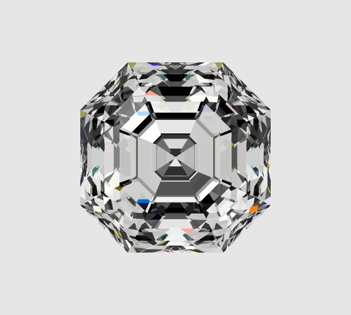 Your Custom Cut Lab Grown Private Reserve Heritage Asscher Cut Diamond