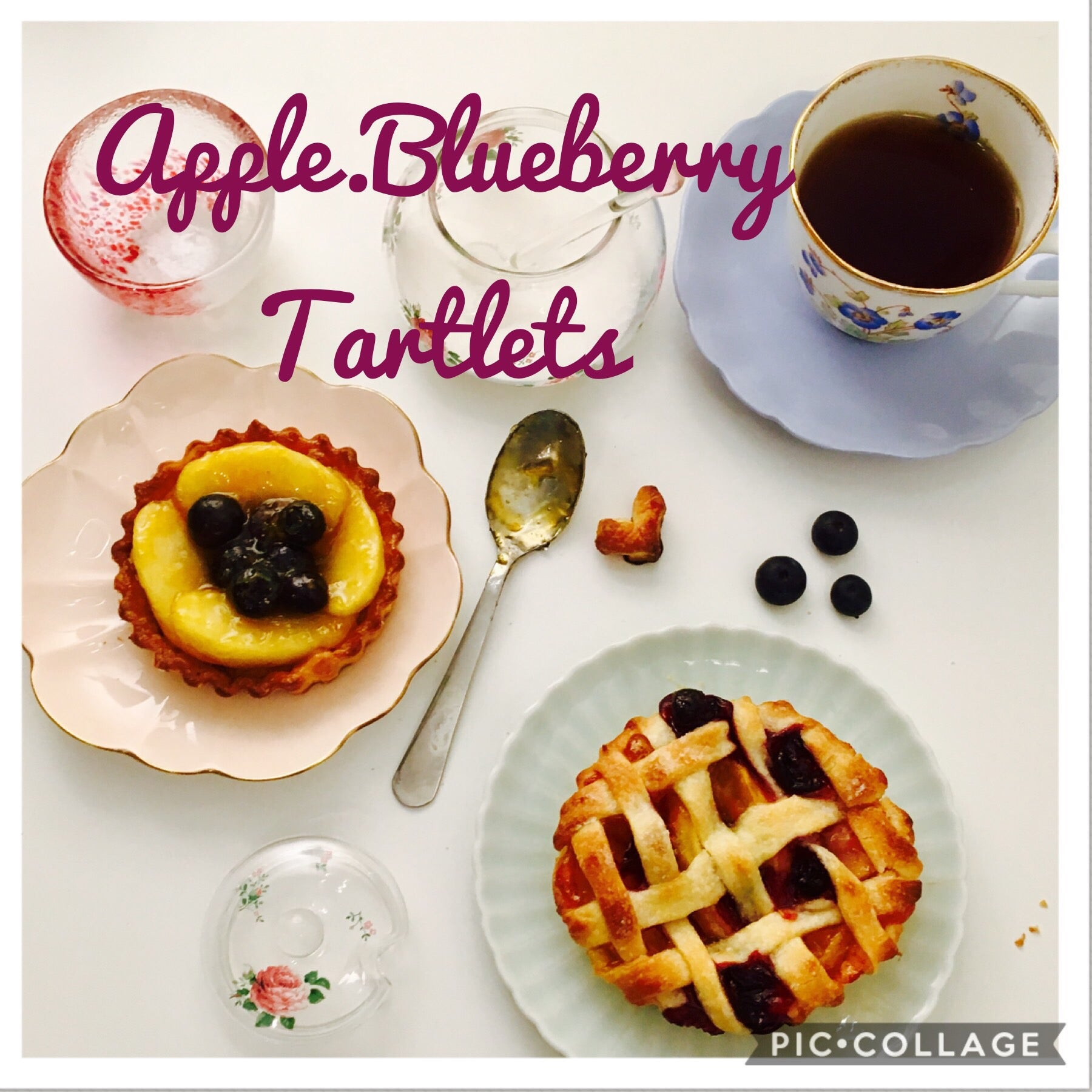 Apple Blueberry Tartlets