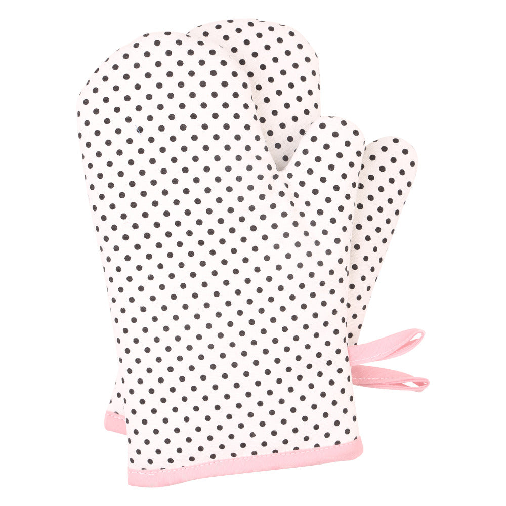 Dotty For You Oven Mitts