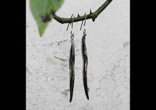 Mink Bone Drop Earrings