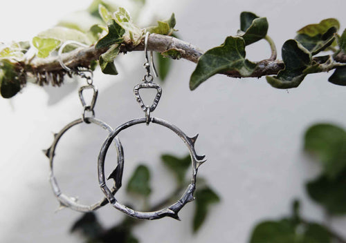 Rose Branch Earrings