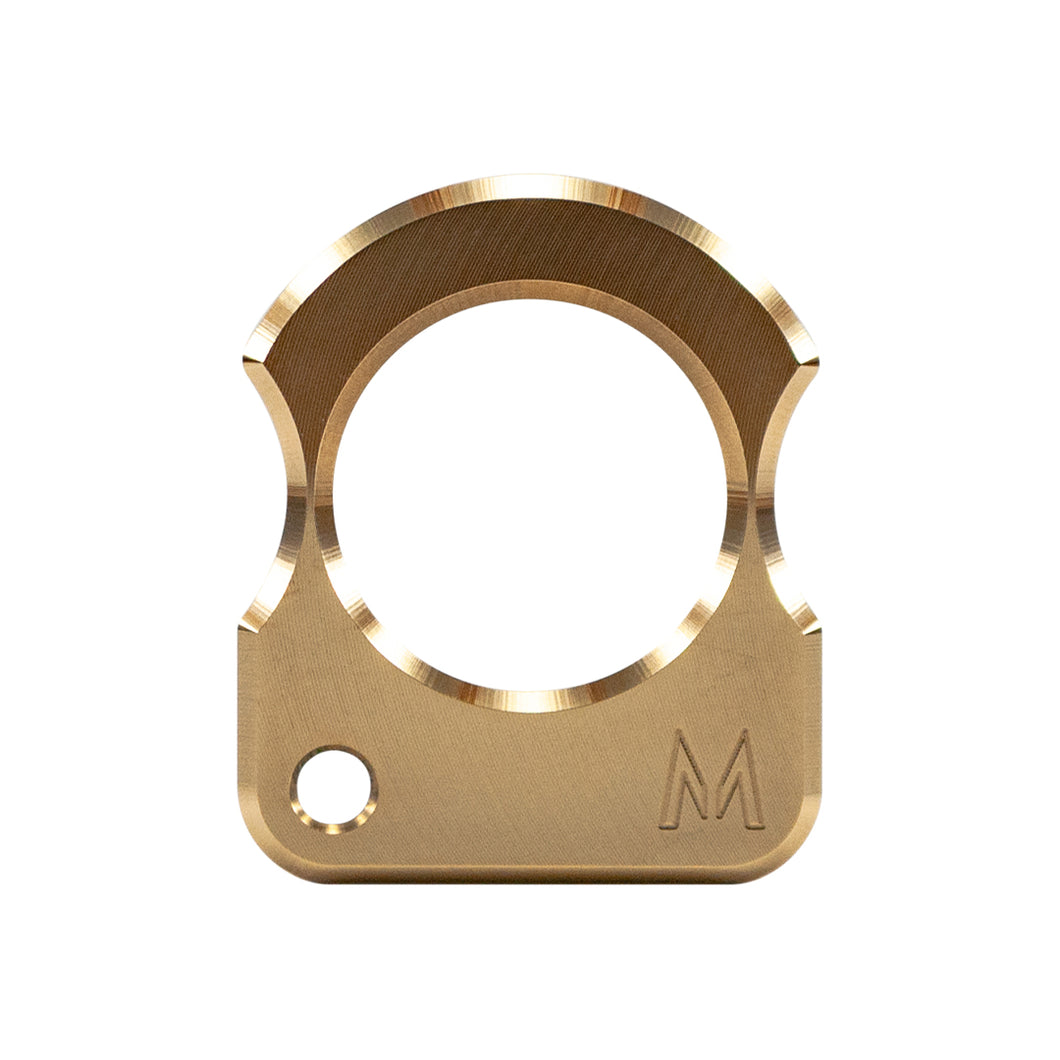 Single Knuckle - Brass