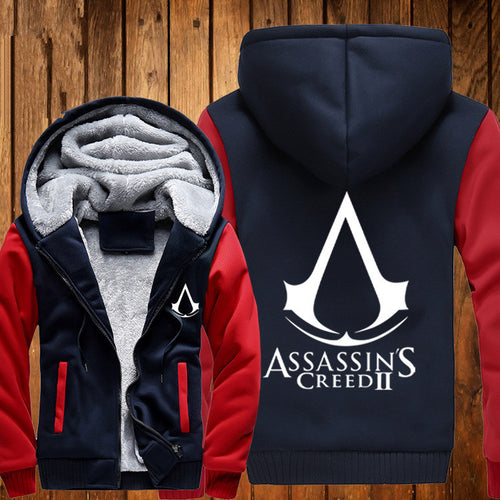 Assassin's Creed II 3D To Color Hoodie