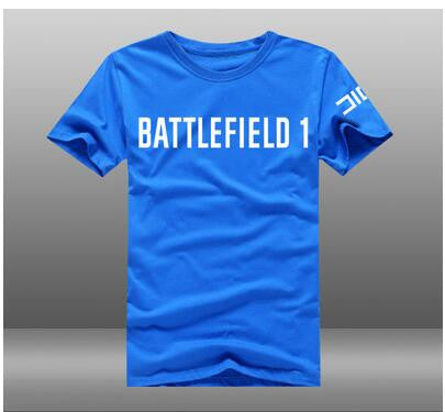 Battlefield 1 Cotton O-Neck Short Sleeve T-shirts