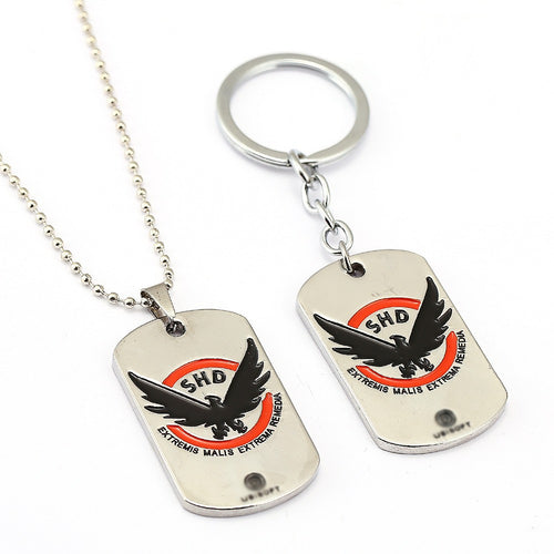 The Division Agent Dog Tag & Keychains