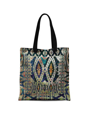Abstra African Reflection Canvas Tote