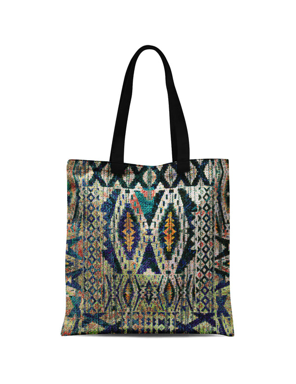 Abstra African Reflection Canvas Print Tote