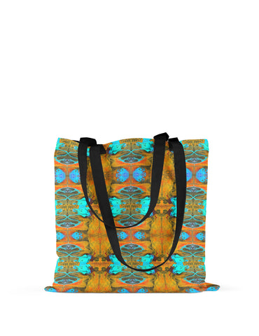 Abstra Autumn Butterfly Canvas Tote