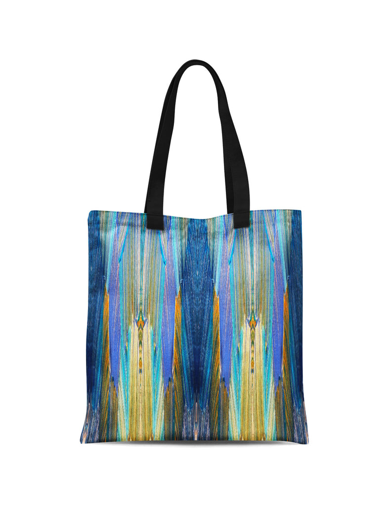 Abstra Blue All Over Print Tote