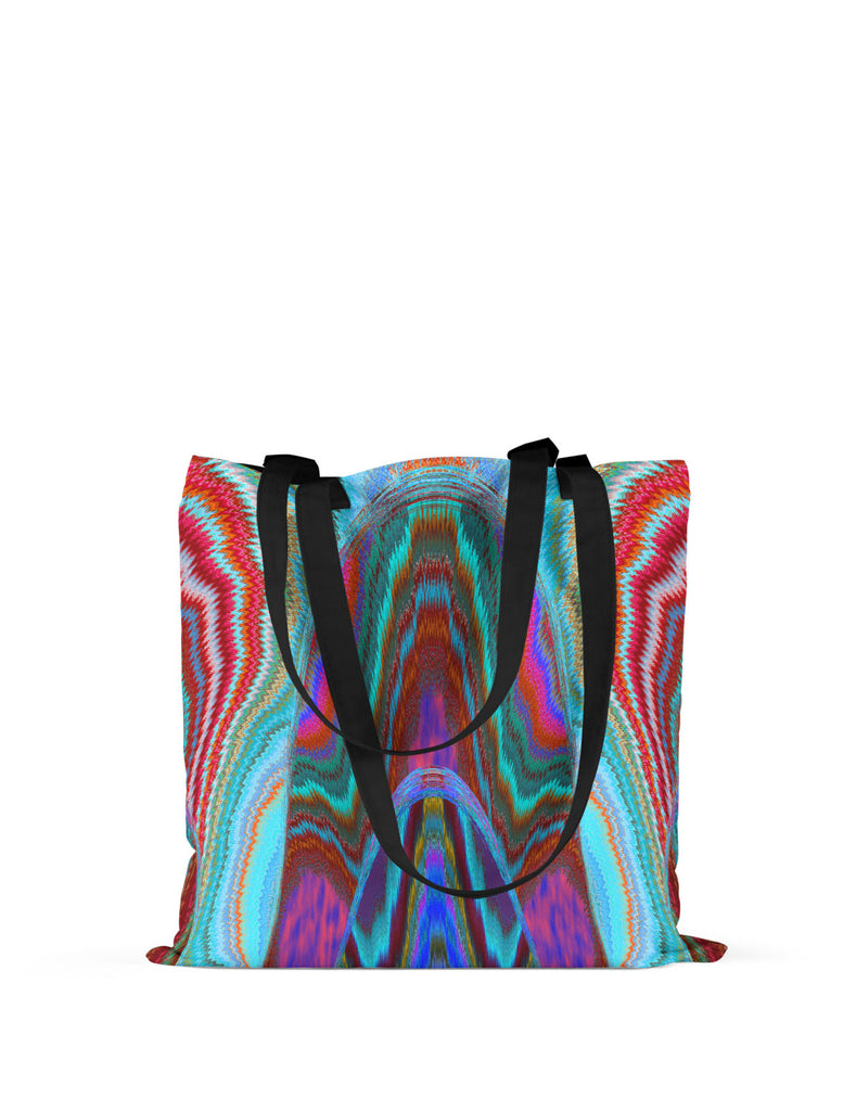 Abstra Boho Printed Canvas Tote
