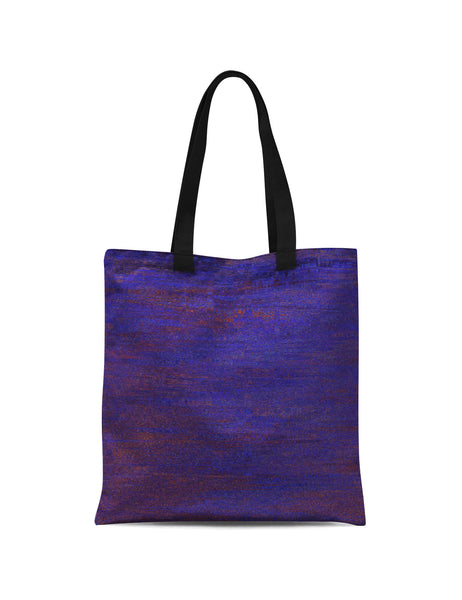 Abstra Minimal - Dark Blue Canvas Print Tote