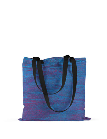 Abstra Minimal - Light Blue Canvas Tote