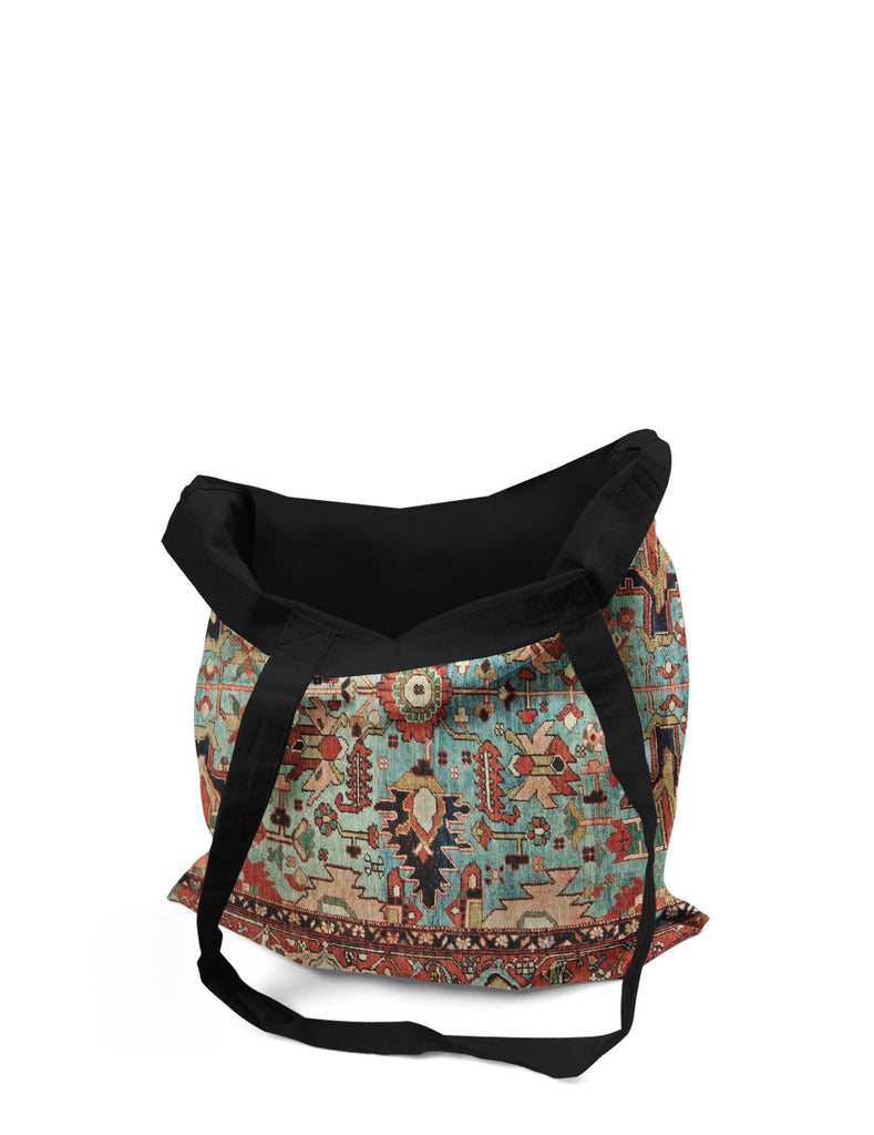 Abstra Oriental - Ancient Printed Canvas Tote