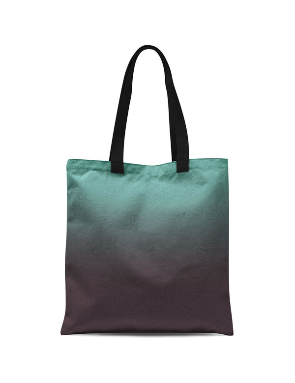 Abstra Soft Green Canvas Print Tote