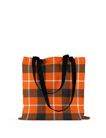 Abstra Squares Canvas Tote