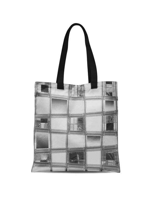 Abstra Choco Grey Canvas Tote