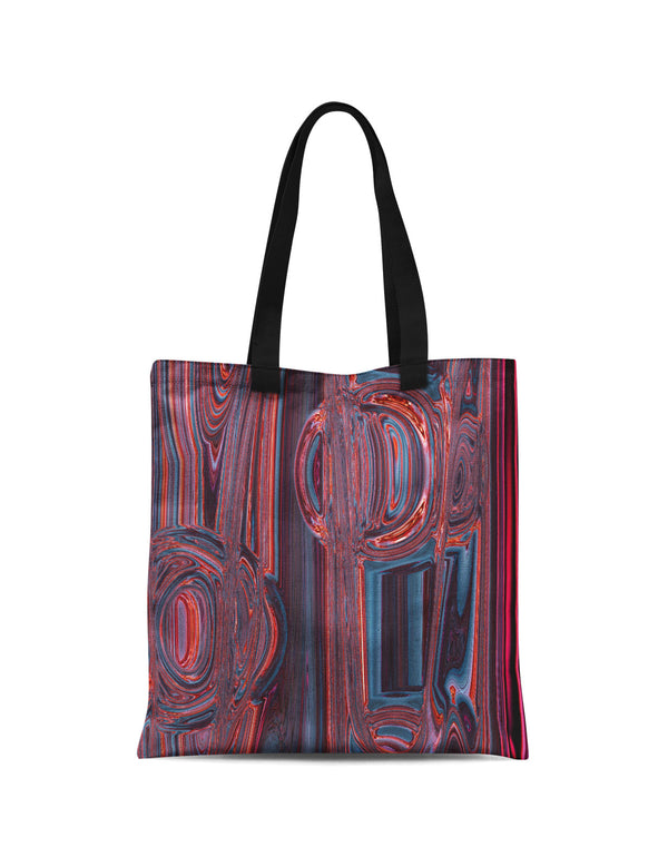 Abstra Neon Canvas Tote