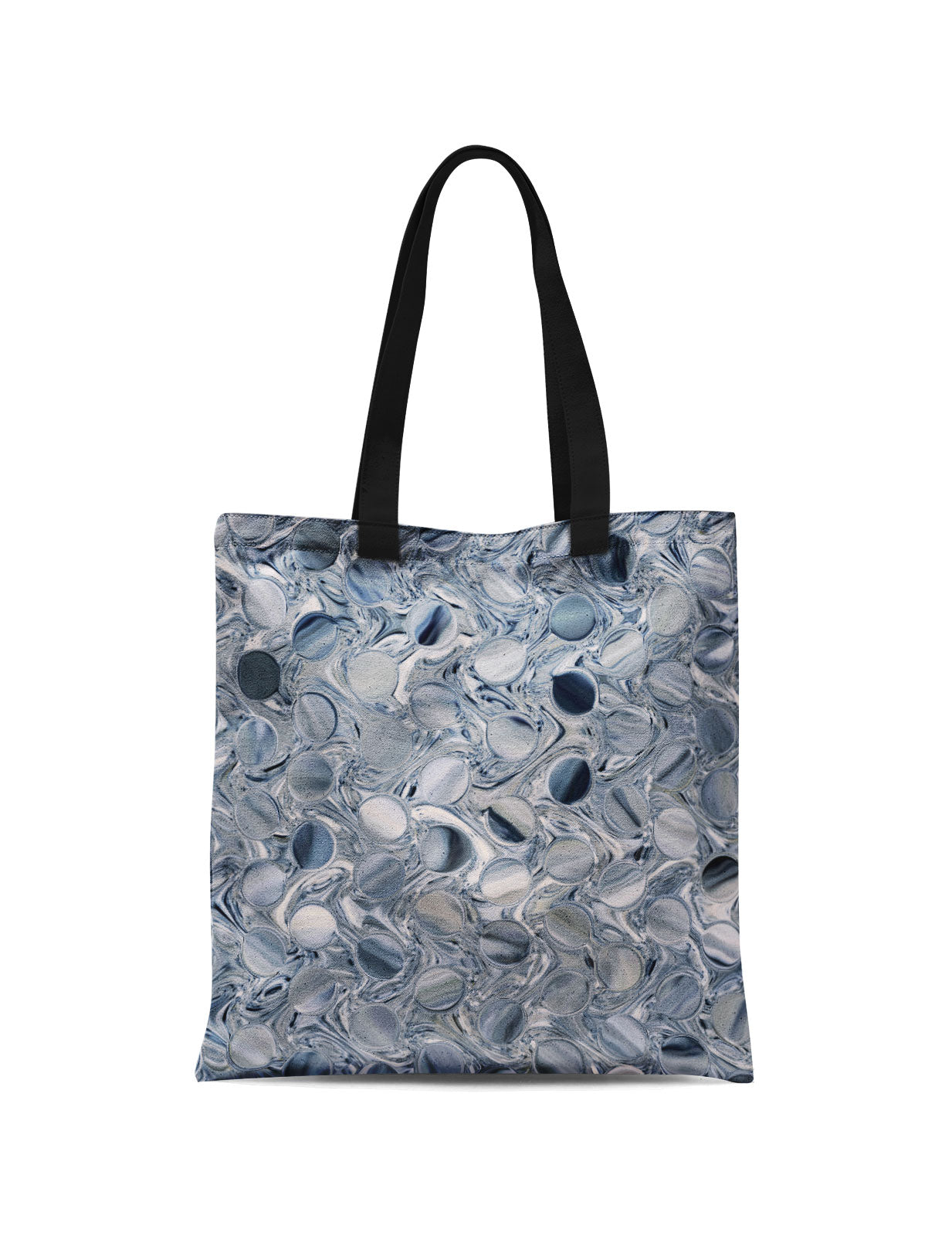 Abstra Silver Canvas Tote