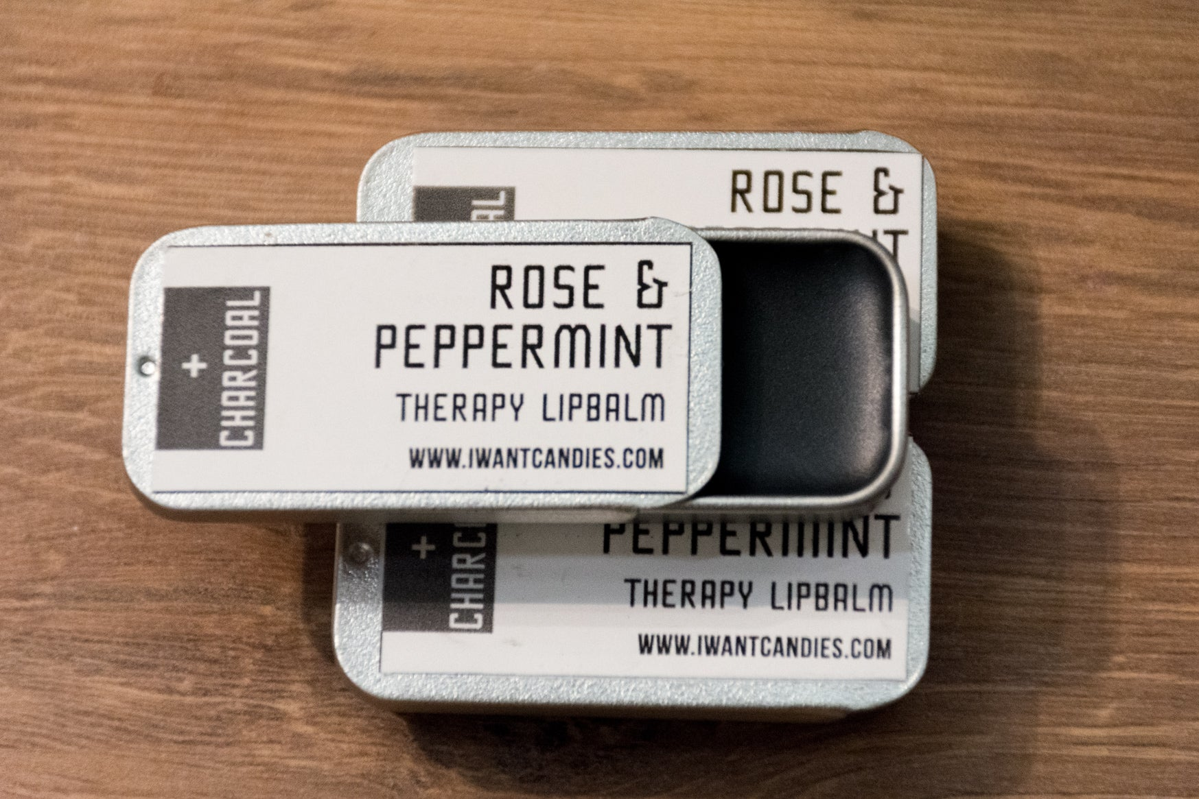 Rose & Peppermint Therapy Lip Balm