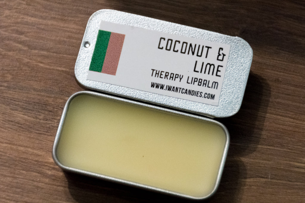 Coconut & Lime Therapy Lip Balm