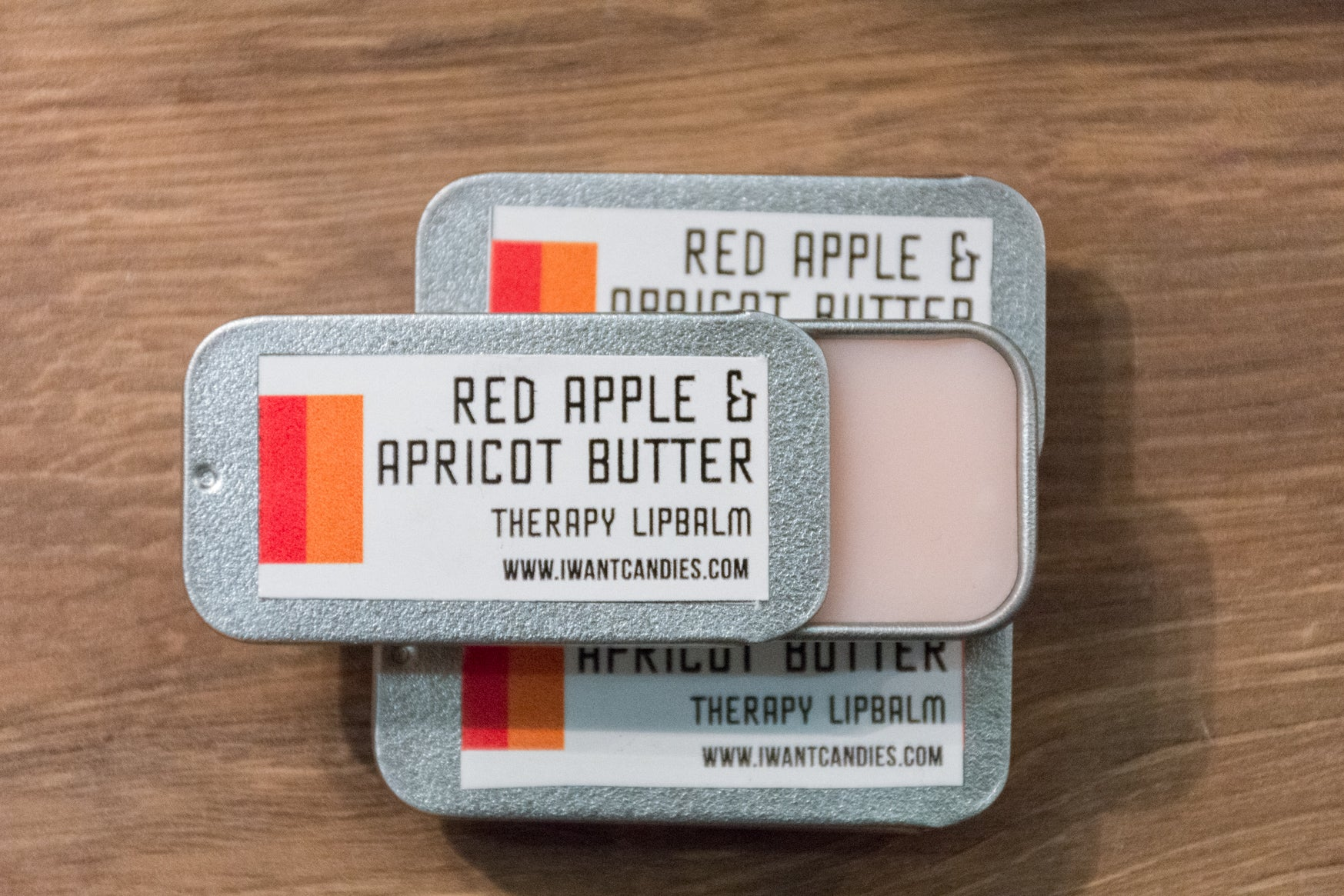 Red Apple & Apricot Therapy Lip Balm