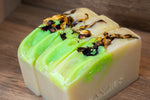 Goat's Milk & Sherbet Lemon Soap