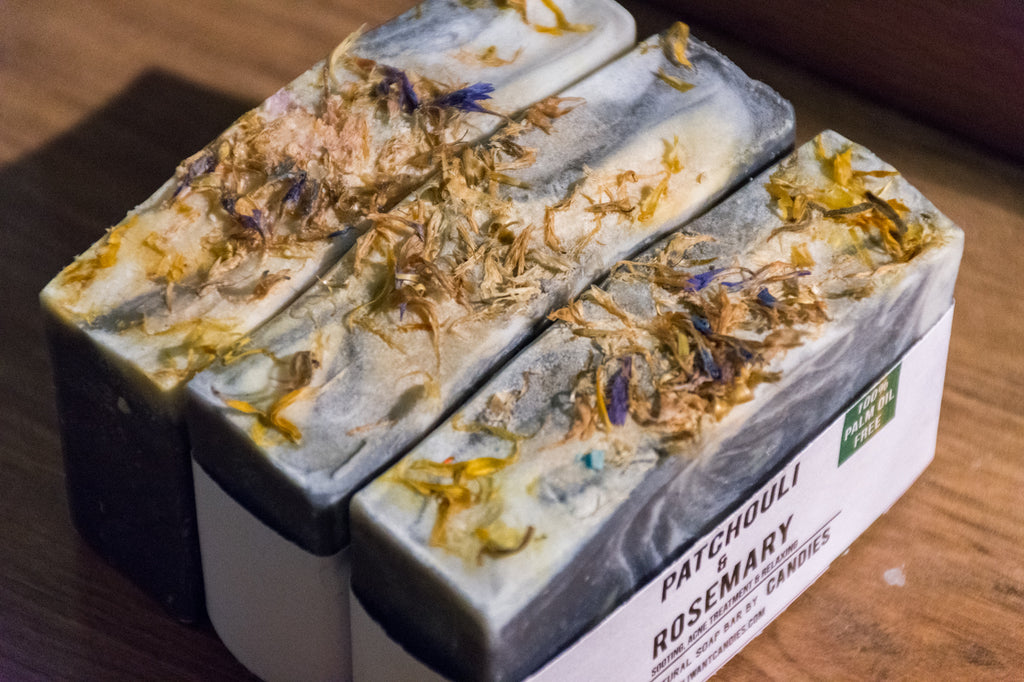 Patchouli & Rosemary Soap