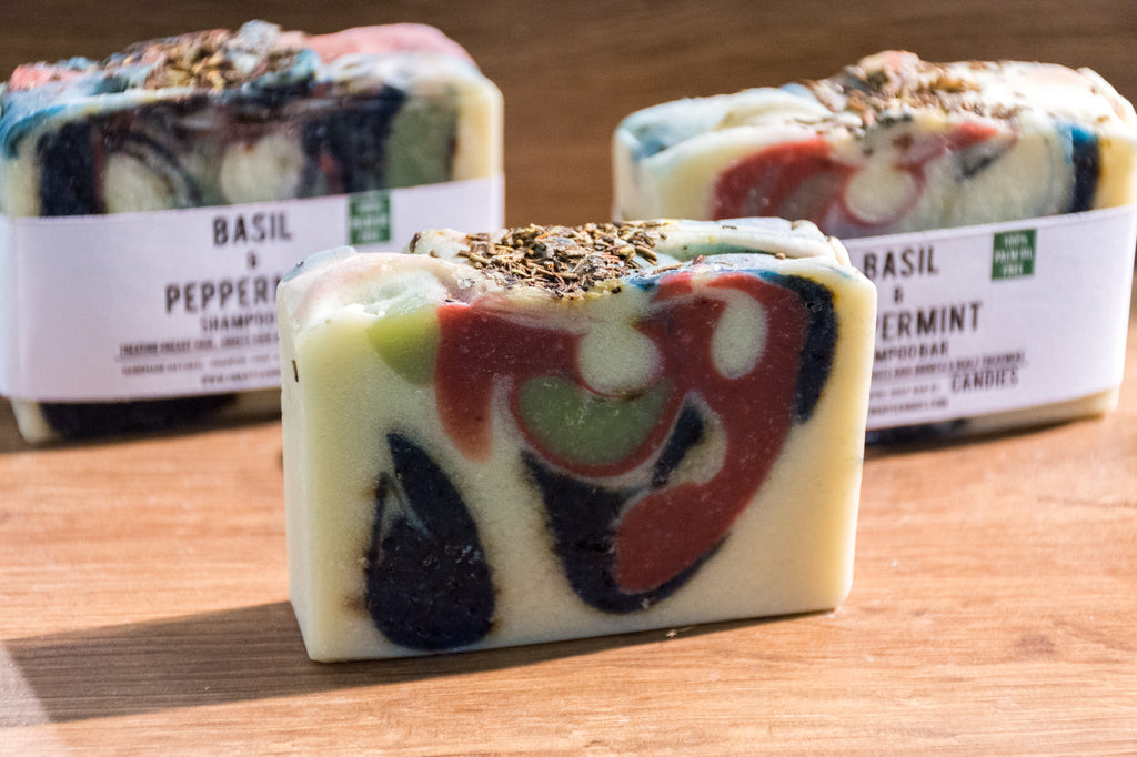 Basil & Peppermint Shampoo Bar