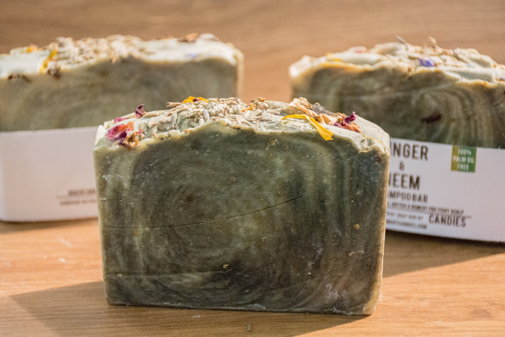 Ginger & Neem Shampoo Bar