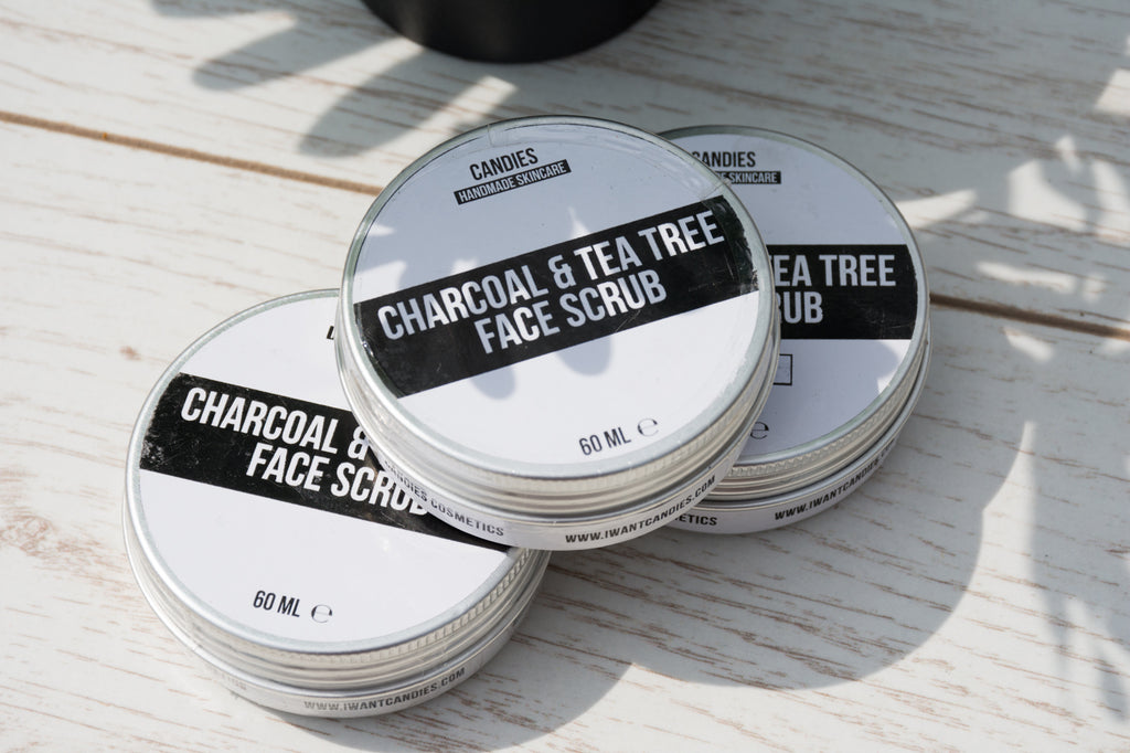 Charcoal & Tea Tree Face Scrub