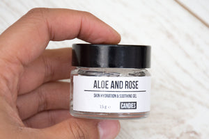 Aloe Vera & Rose Skin Hydration Gel
