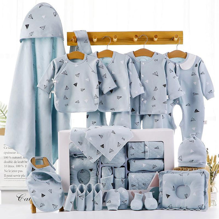 18/22 Pieces Newborn Infant Baby Gift Set A 22blue