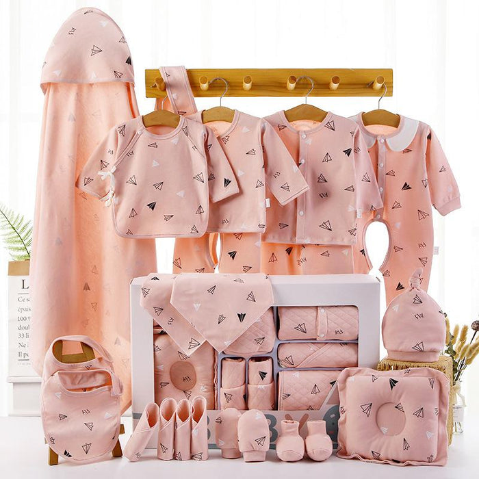 18/22 Pieces Newborn Infant Baby Gift Set A 22pink
