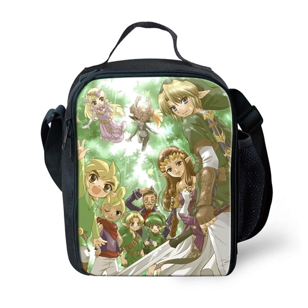 New Teen Girl Boy School  Lunch Case