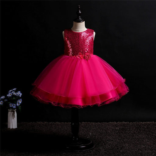 Kids Girls Elegant Party Gown dress