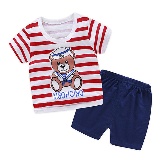 Summer Baby Boy T Shirt  + Shorts sets