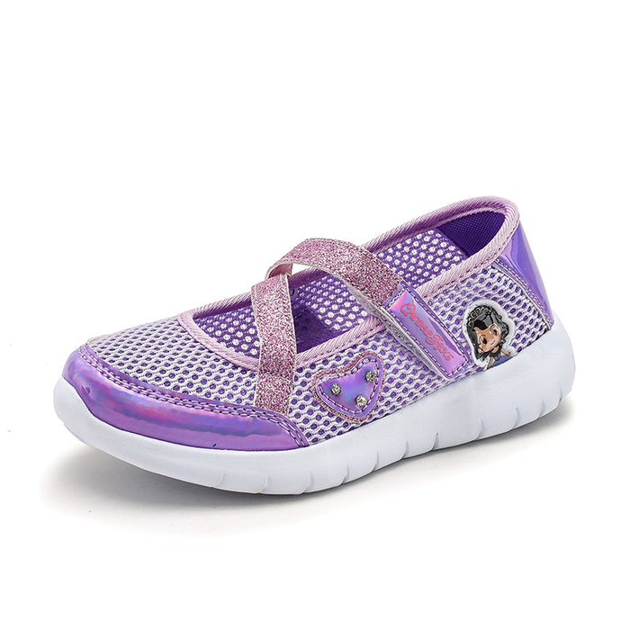 Mesh Breathable Student Running Shoe For Toddler Girls
