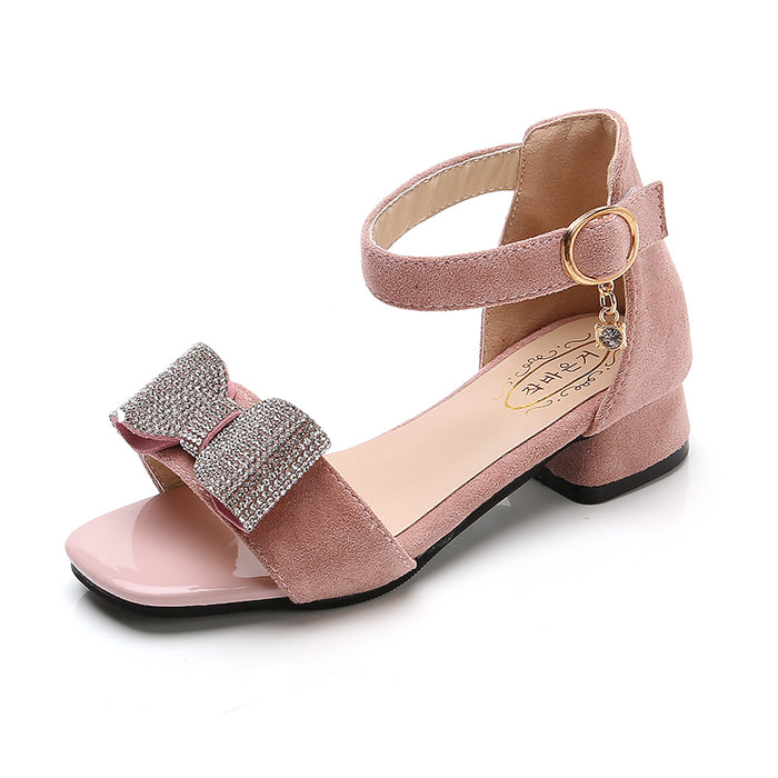 Low Heel Princess  Girls Party Shoes