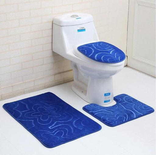 Solid Toilet Seat Cover Thicken Anti-slip Bath Mats