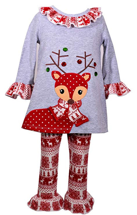 Baby Girls' Christmas Dress and Legging Set